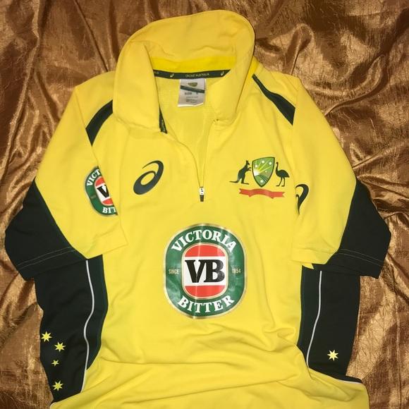6b982e270ac Asics Shirts | Nwot Cricket Australia Jersey | Poshmark